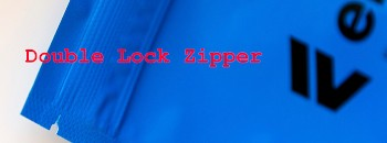 Double Lock Zipper with Linear Tear Feature